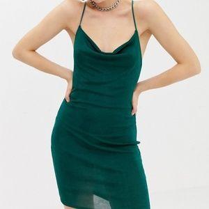 Collusion Green Slink Dress
